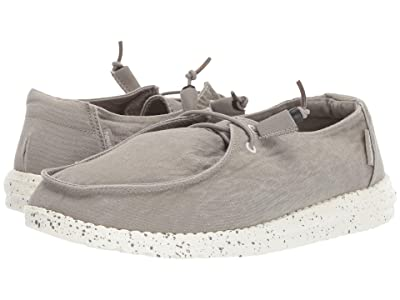 Hey Dude Wendy Washed (Grey) Women