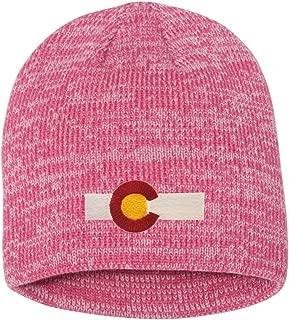 colorado flag knit hat