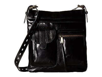 Hobo Crusade (Black) Cross Body Handbags