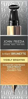 John Frieda Tratamiento Intensificador Pelo Castaño 100ml | Aclarador Pelo | Tonos Oscuros
