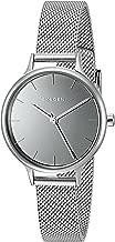 Skagen Denmark Women's Silvertone Anita Mirror Dial Watch with Mesh Bracelet