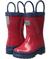Hatley Kids - Red & Navy Rain Boots (Toddler/Little Kid)