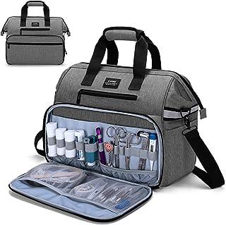 کیف پزشکی CURMIO ، کیف لوازم پرستار با آستین لپ تاپ خالی برای بازدید در منزل ، مراقبت های بهداشتی ، Hospice ، هدیه عالی برای پزشکان ، دانشجویان پرستاری ، فیزیوتراپیست ها ، فقط کیف ، خاکستری