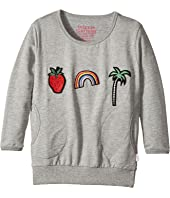 Munster Kids - Abi Star Fleece Crew Neck (Toddler/Little Kids/Big Kids)