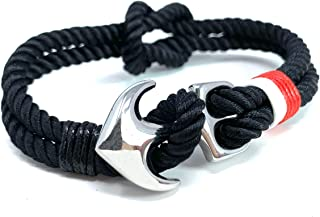 nautical rope bracelet with anchor