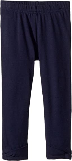 Janie and Jack Bow Cuffed Leggings (Toddler/Little Kids)