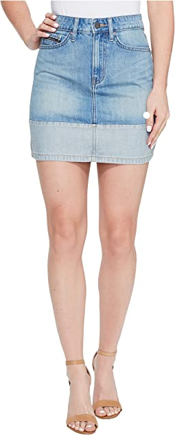 Face Reverse Mini Skirt