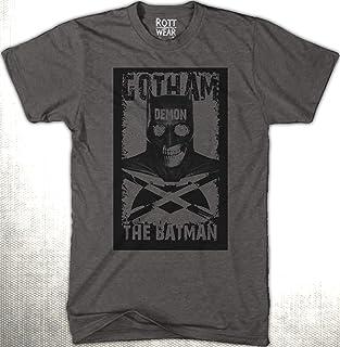 Gotham Batman Demon Playera Hombre Rott Wear