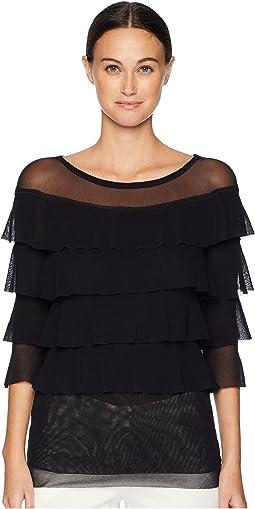 004f3a081f Fuzzi pareo skirt with ruffle in batik print