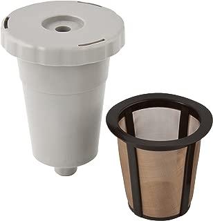 Gold Tone K-Cup Reusable Starter Pack, Includes filter system & filter basket.
