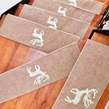 15 Pack Stair Pads Step Carpet Non Slip Adhesive Carpet Stair Treads Mats Pad Non Slip Step Protection Rug Cover (Color : ...
