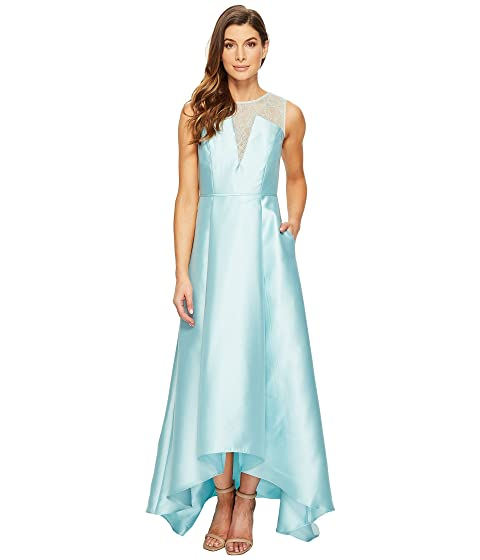 line browse drape a drapes shopstyle yoke gown adrianna dresses papell sequined tulle xlarge evening lace