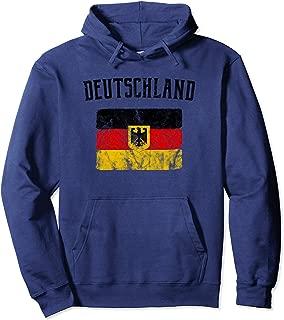 German Flag Hoodie - Deutschland (Vintage)