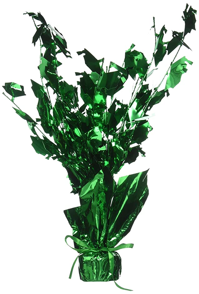 Graduate Cap Gleam 'N Burst Centerpiece (green) Party Accessory  (1 count) (1/Pkg)