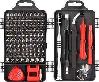 Mini Precision Screwdriver Set,Meideli Small Screwdriver Repair Kit,110 in 1 DIY Repair Tools Kit with Bits Magnetic Multi...
