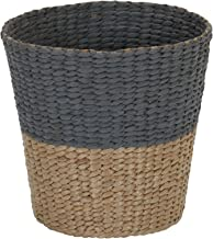 Household Essentials ML-6620 Cattail and Paper Waste Basket, Two, 2 Tone