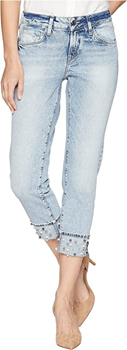 Mavi Jeans Ada Relaxed Boyfriend in Reverse Pearl