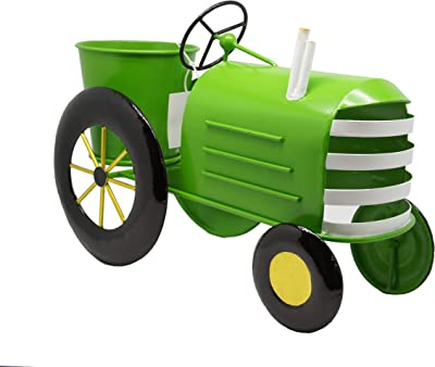 Amazon.com: Maceta de tractor: Jardín y Exteriores