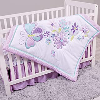 Sammy & Lou Butterfly Meadow 4 Piece Crib Bedding Set