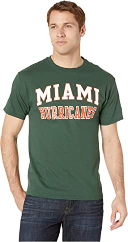 Miami Hurricanes Jersey Tee
