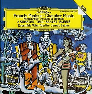 Poulenc : 2 Sonaten/Trio/Sextett/Elegie