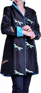 Satin Dragonfly Embroidered Jacket