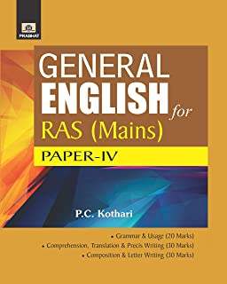 GENERAL ENGLISH FOR RAS MAINS