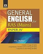 GENERAL ENGLISH FOR RAS MAINS