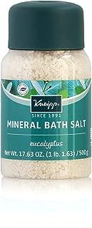 Kneipp Mineral Bath Salt, Cold Season Relief, Eucalyptus, 17.63 fl. oz.