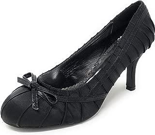 Charles Albert Women's High Heel Satin Dressy Stiletto Pump