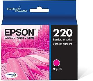 Best Epson T220320 DURABrite Ultra Magenta Standard Capacity Cartridge Ink (WF-2760, WF-2750, WF-2660, WF-2650, WF-2630, XP-424, XP-420, XP-320) Review