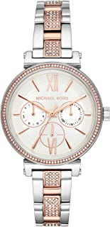Michael Kors Women's Quartz Wrist Watch analog Display and Stainless Steel Strap, MK4353