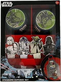 Compuesto dise/ño Star Wars Stor 79135 Set 60 c/ápsulas para Mini Cupcakes en Bolsa Bakery para reposter/ía 25x20x7 cm Unidades