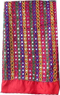 Aglare Cotton   Lightweight   Decorative   Designer Mirror Foil Fabric for Women & Girls