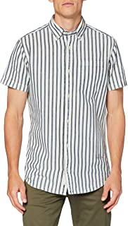 Jack & Jones Jprblujaxon Shirt S/S One Pocket Camisa para Hombre