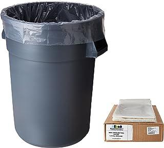 55 Drums Litter Pails Oversize Big Bag Liner Holder Garbage Trash Can Rubber Bands Blue Large Size 17 Inch Rubberbands for Kitchen Compactor Tote Bin 55-65 Gallon for 95 96-100 Gal Toter 1 LB