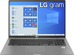"LG Gram Laptop - 17"" IPS WQXGA (2560 x 1600) Intel 10th Gen Core i7 1065G7 CPU, 16GB RAM, 1TB M.2 NVMe SSD (512GB x2), 17"