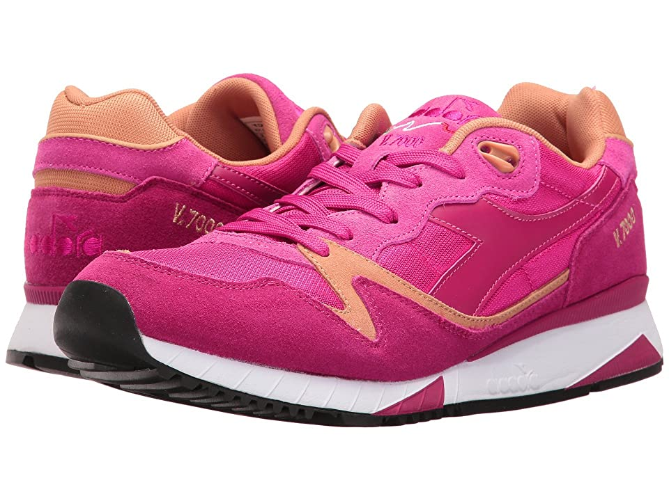 Diadora V7000 NYL II (Sand/Bright Rose/Incense) Athletic Shoes