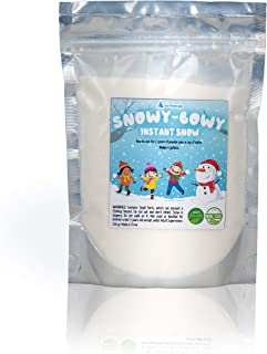 Instant Snow, Insta Snow Powder, Instant Snow for Cloud Slime and Decoration,4 Gallons Snow Powder Just add Water, Fake Artificial Snow, Expanding Winter Snow, Slime Supplies,Insta-Snow Ice Slime