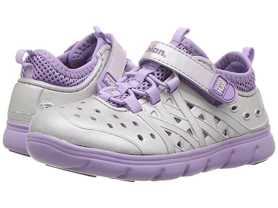 Stride Rite Made 2 Play Phibian (Toddler/Little Kid/Big Kid) (Purple Metallic) Girls Shoes