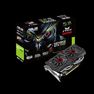 【Amazon.co.jp限定】ASUS R.O.G. STRIXシリーズ NVIDIA GeForce GTX1060 搭載 ビデオカード メモリ 6GB STRIX-GTX1060-DC26G