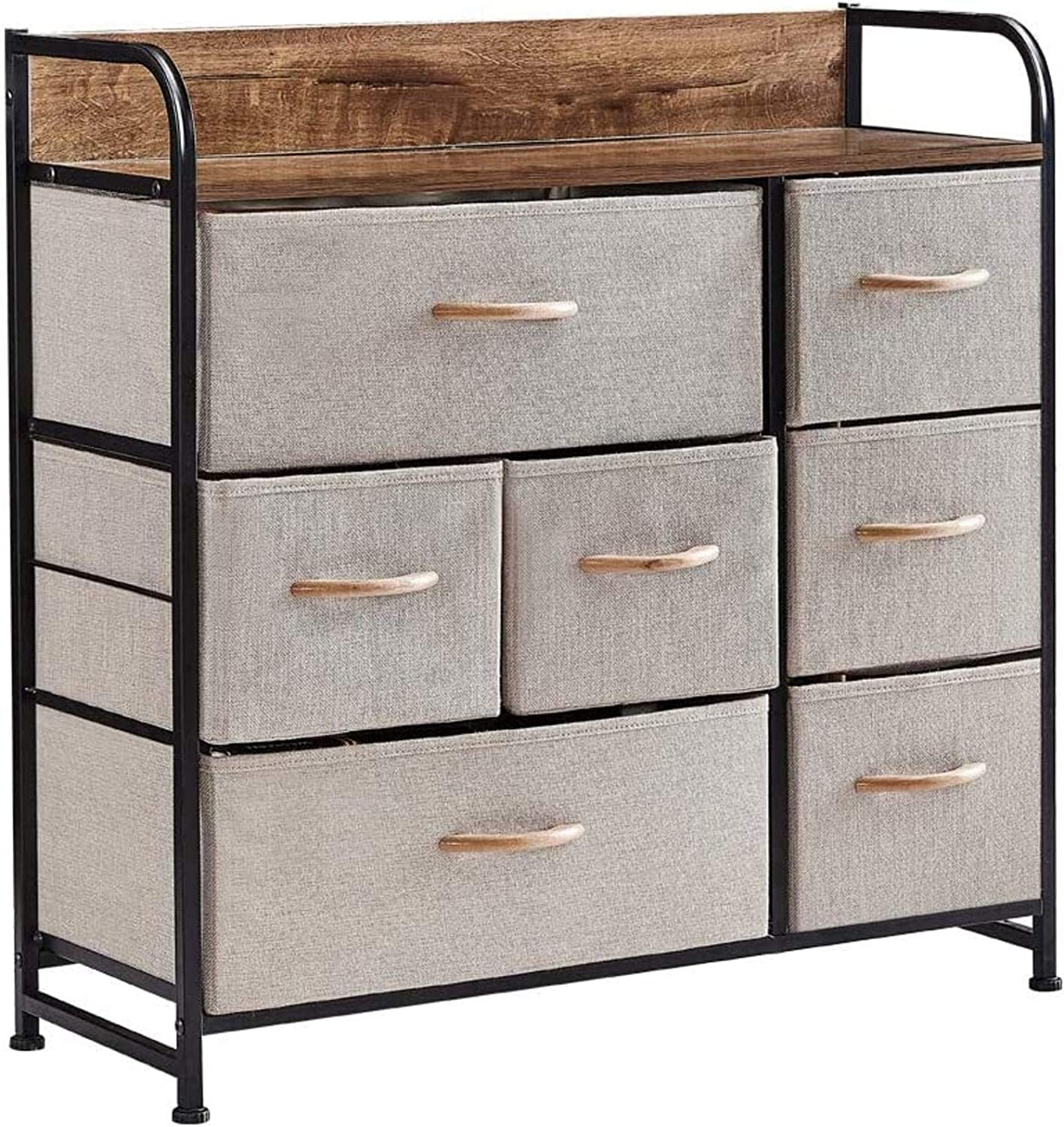 Dresser Special Campaign Storage Tower 7 Very popular Drawers Bedroo for Unit Fabric Organizer