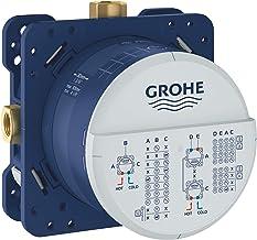 GROHE 35600000 Rapido SmartBox UP-buisinstallatie, inbouwbehuizing, 3 uitgangen 1/2 inch
