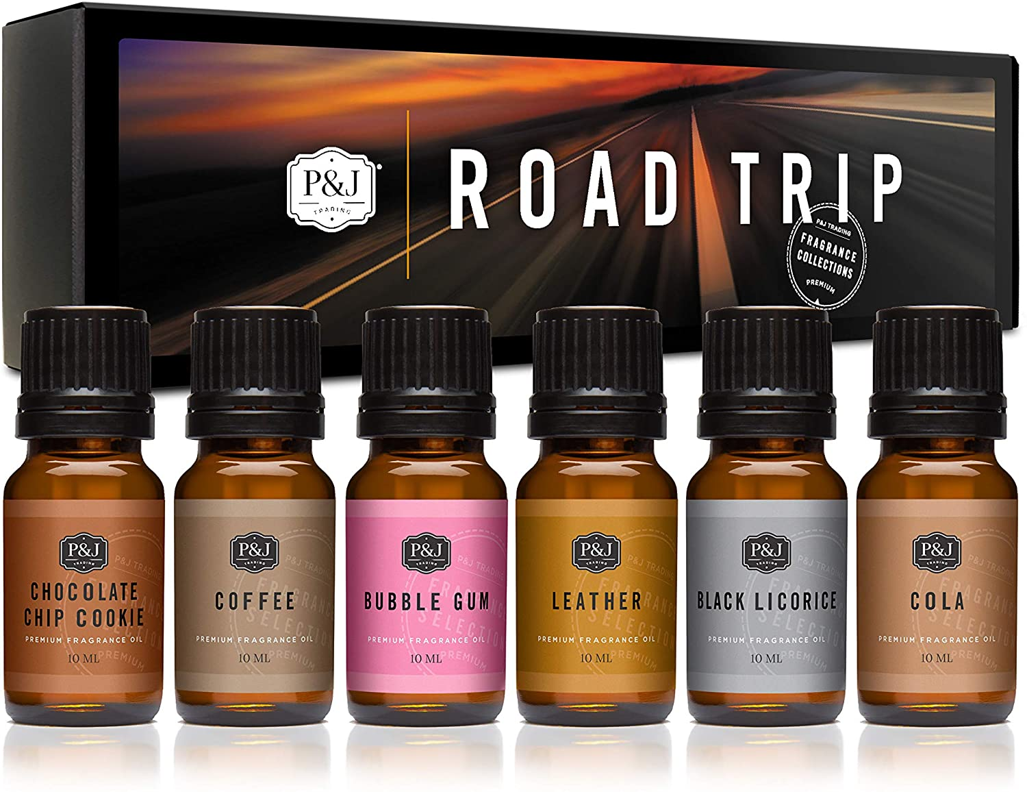 PJ Trading Fragrance Oil Road Trip of Set Quality inspection Max 62% OFF - for Scented 6