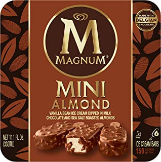 Magnum Mini Ice Cream Bars, Almond 6 ct