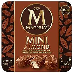 Magnum Mini Ice Cream Bars, Almond 6 ct