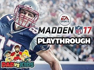 Clip: Dad vs. Kids Play Madden NFL 17
