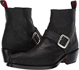 Rebel Troubadour Buckle Biker Boot
