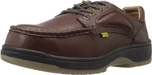 Florsheim Work Hommes's Compadre FE2440 Work chaussures, marron, 9 3E US