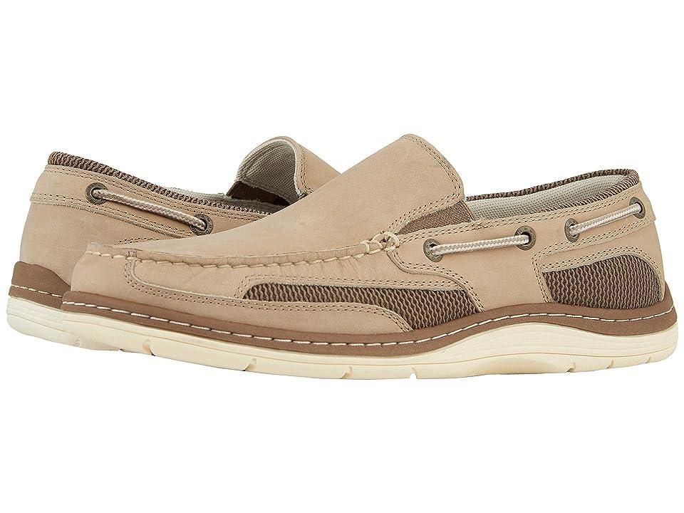 Dockers Danby Boat Shoe (Bone Crazyhorse) Men